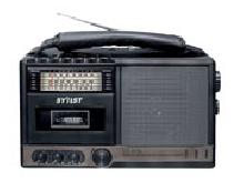 Portable Radio Cassette Recorder Player (SS-619)