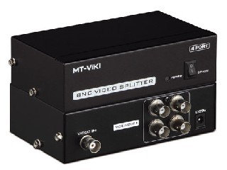 MT-104BC 4 port BNC splitter