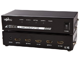 MT-SP104 (4 PORT HDMI SPLITTER)