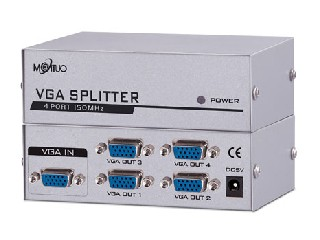 MT-1504 (150MHZ 4 PORT VGA SPLITTER)
