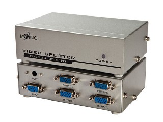 MT-2504 (250MHZ 4 PORT VGA SPLITTER)