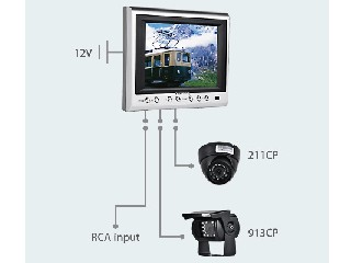 "5.6"" LCD Color Rear view System (CS068A)"
