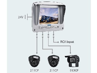 "5.6"" LCD Color Rear view System (CS068B)"