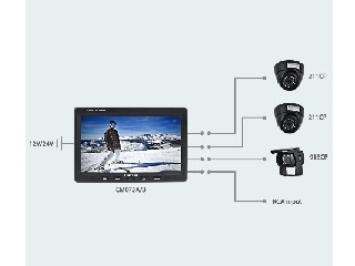 "7 ""LCD Color Rear view System (CS073A/B)"