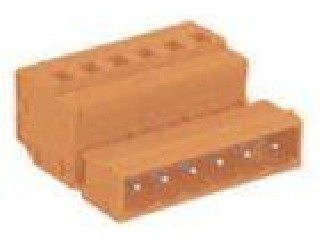 SP450 / SP458 300V Orange 2 - 24 Male MCS Connector With Spring - Cage Clamp