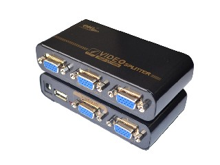 mini 4 ports VGA splitter(ekl-mini94)