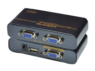 2 ports mini VGA splitter (ekl-mini92)