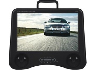 Lastest 14.5inch wide screen portable DVD player with TV &Game&USB  SD-1458
