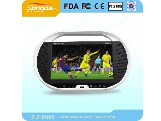 "russia wholesale,factory ,7"" 9"" 10"" 11"" 12"" 14"" 15inch portable dvd/evd player,with portable TV func"