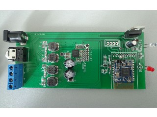 bluetooth audio amplifier MAX 2*20W larger board with connectors