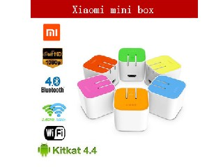 In Stock Original Xiaomi Small TV Box HD MT8685 Quad Core 1.3GHz 1GB DDR3 4GB eMMC Android 4.4 Smart