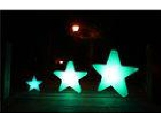 Full Color Decorative Small LED Night Light Waterproof , LED Star Night Light