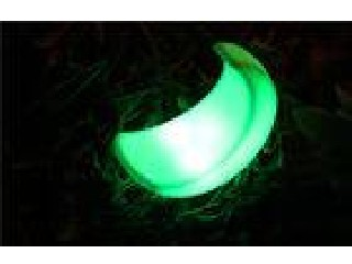 Energy Efficient Small LED Night Light Moon Shape LED Childrens Night Light