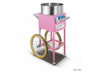 CC-11C Electric Cotton Candy Machine With Cart