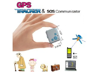 Mini GPS Tracker Watch for Kids and Elderly GSM Monitor Sos Phone Call (QT-V16)