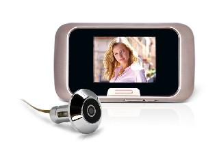 QT-PDV008 Digital Peephole Viewer door Camera with photos and video