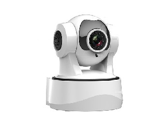 Wansview PTZ IP Camera with 1280X720p, IR-Cut, Night Vision, WiFi, 2 Way Intercom, Motion Detection