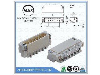 "Right Angle Header, SMT / .031""(0.80mm) Wire-to-Board Connector  9082-xx"