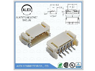 "Side Entry Type / .079""(2.00mm) Ultra-Small Wire-to-Board Connectors 2018-xxSM"