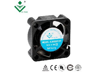 25X25X10MM mini 12v dc cooling box LED light fans
