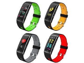 IP68 Waterproof Bluetooth Smart Band with 0.96inch OLED,support heart rate,blood oxegen and pressure