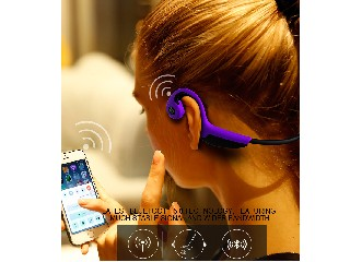 Sweatproof Sports Bluetooth Bone Conduction Headphone for Music-playing and Answering Phone Calls
