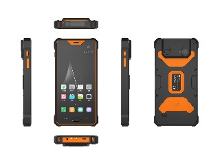 S917V2 Android 8.1 Rugged PDA with barcode scanner and HF RFID/UHF RFID
